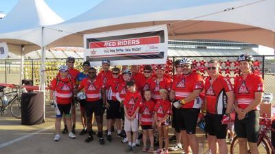 DFW Tour de Cure Red Riders