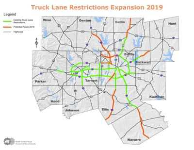 Truck lane restrictions