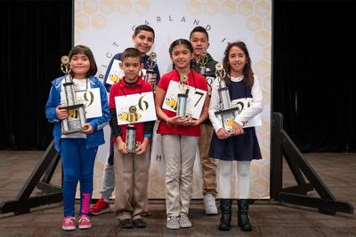 First-place winners named in English, inaugural Spanish Spelling Bee