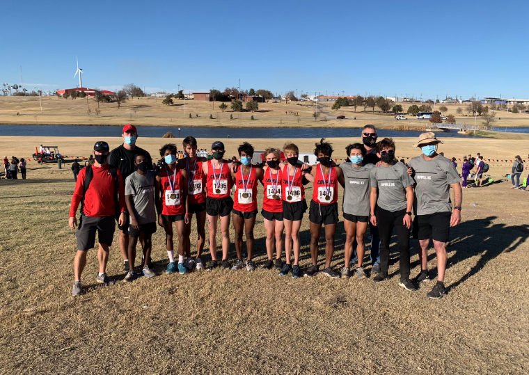 Coppell boys cross country