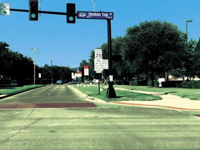 Coppell bike lane