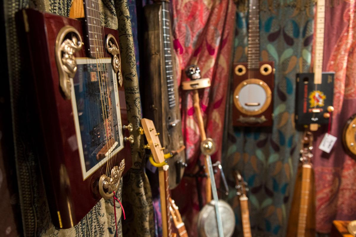 Mark Clark's instruments