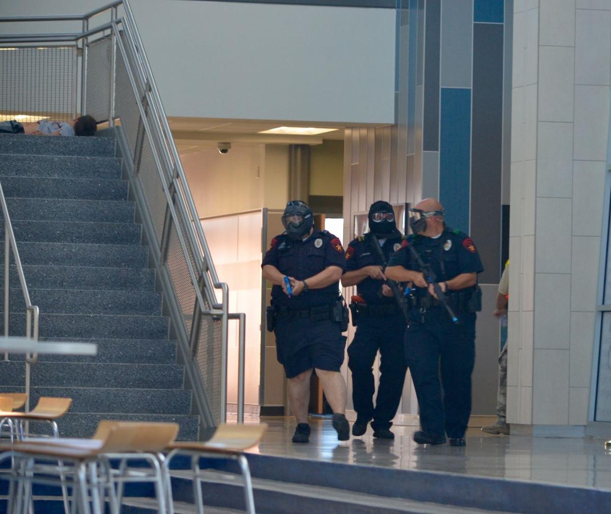 Shots Fired: Lewisville Police, Fire Departments Train On