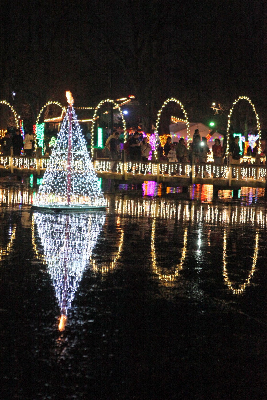 Holidays in the park: Christmas event celebrates 29 years in ...