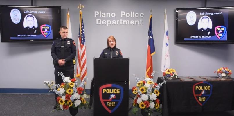 Virtual Police ceremony