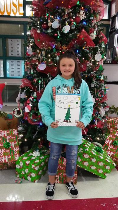 Winning details: Stephens Elementary's budding artist