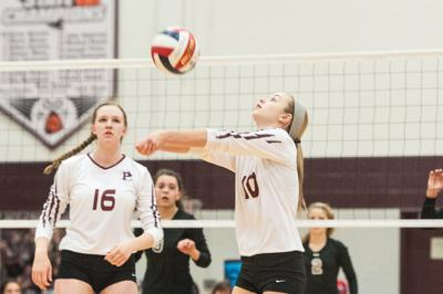 Sweep-y time: Plano handles Wylie, rising in 6-6A volleyball