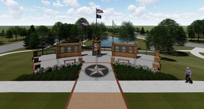 Mesquite unveils rendering for new veterans memorial