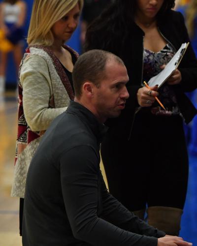 Liberty girls head basketball coach Ross Reedy