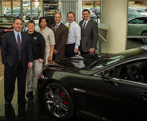 Charming Park Place Jaguar Plano Honored With U0027Pride Of Jaguaru0027 Award