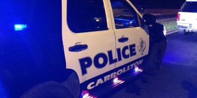 Carrollton Police Vehicle
