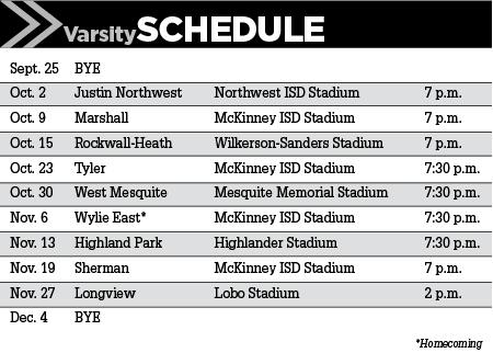 McKinney North Schedule
