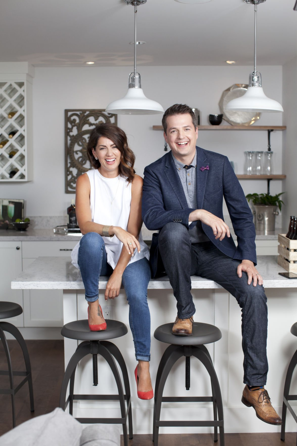 See Jillian Harris and Todd Talbot of HGTV\'s \