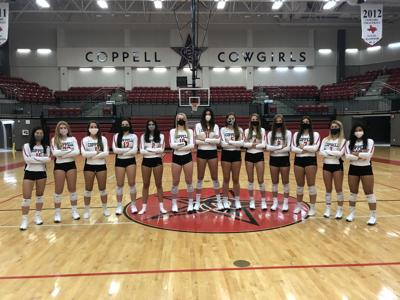 Coppell volleyball team_ 2020