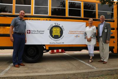 Dallas Regional Medical Center collects nearly 1,200 pounds of school supplies for Mesquite ISD