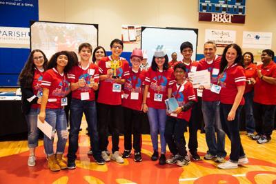Local teams strive at North Texas Lego FIRST LEGO League