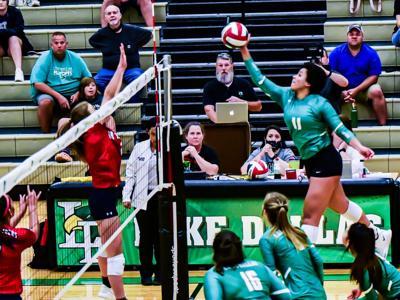 Lake Dallas volleyball Caelyn Gunn