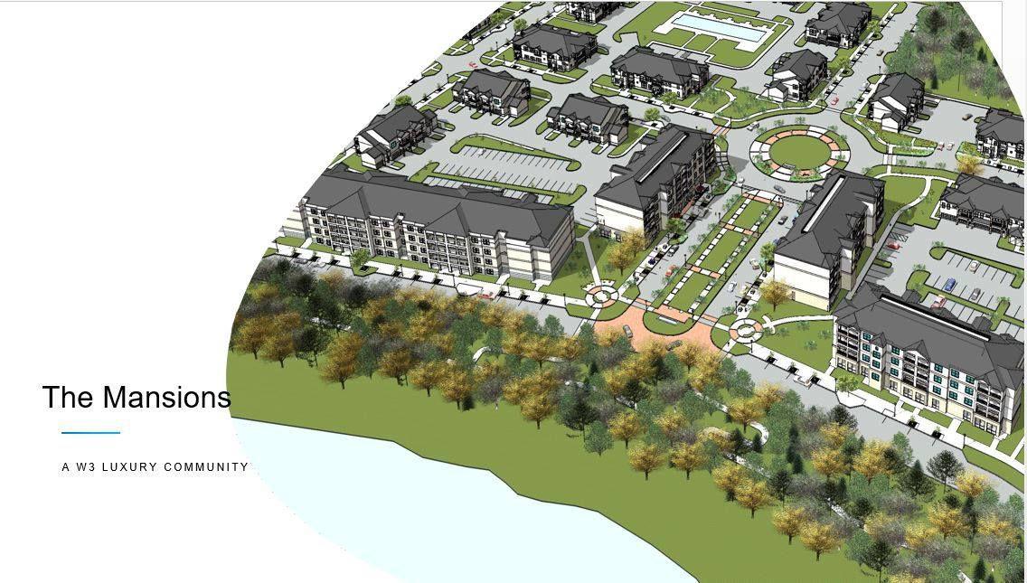 New luxury, lake front apartment community breaks ground