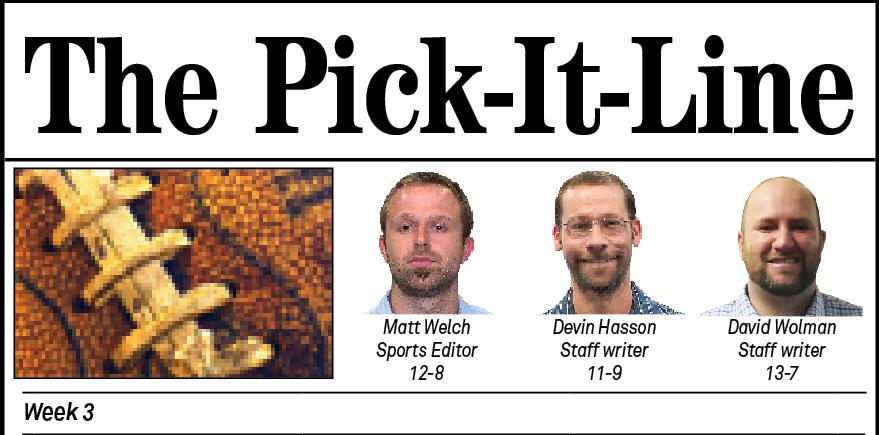 Pick it Line TITLE Week 3