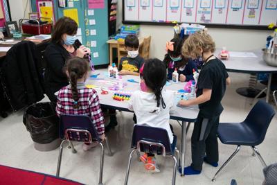 Mesquite ISD classroom