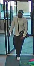 Bank robbery suspect sought by Mesquite PD