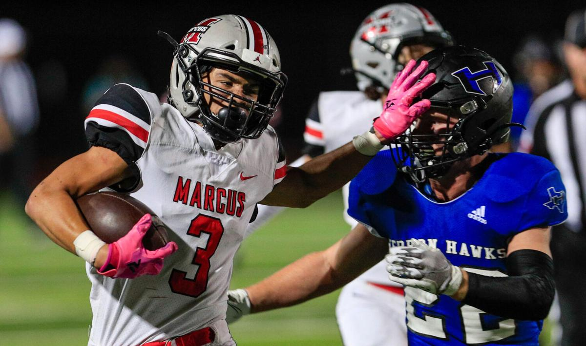 The plot thickens: Marcus tramples Hebron to narrow 6-6A title race