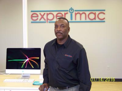 Gerald Odum, owner, Experimac