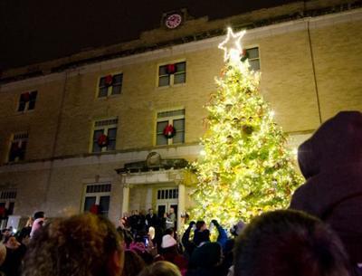 McKinney Christmas tree