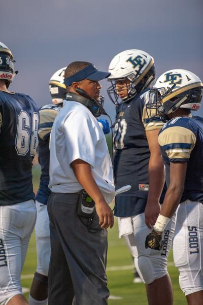 Little Elm head coach Kendrick Brown