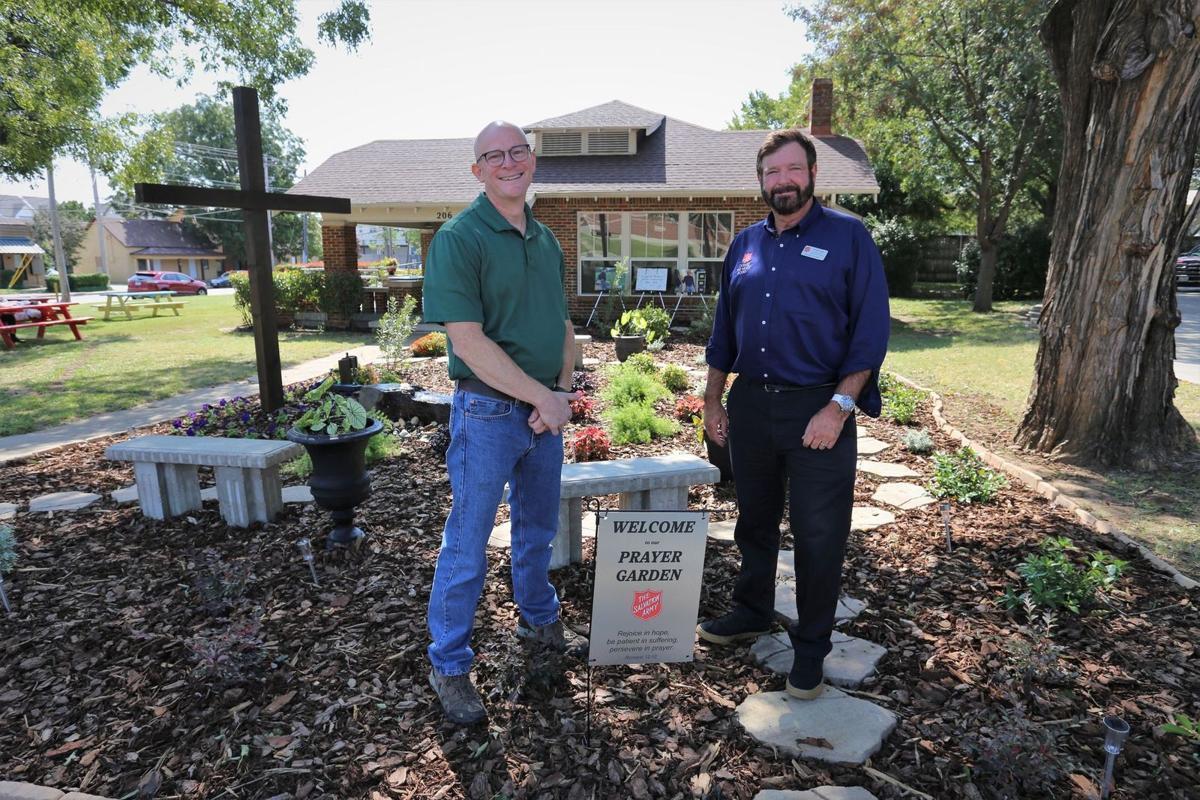 Volunteer creates prayer garden at Salvation Army in Lewisville