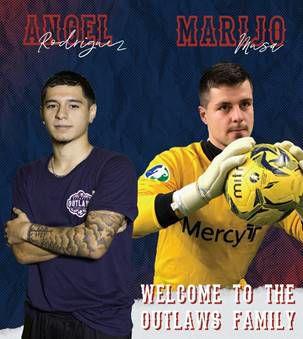 Mesqutie Outlaws add goalkeeper, forward to inaugural season team