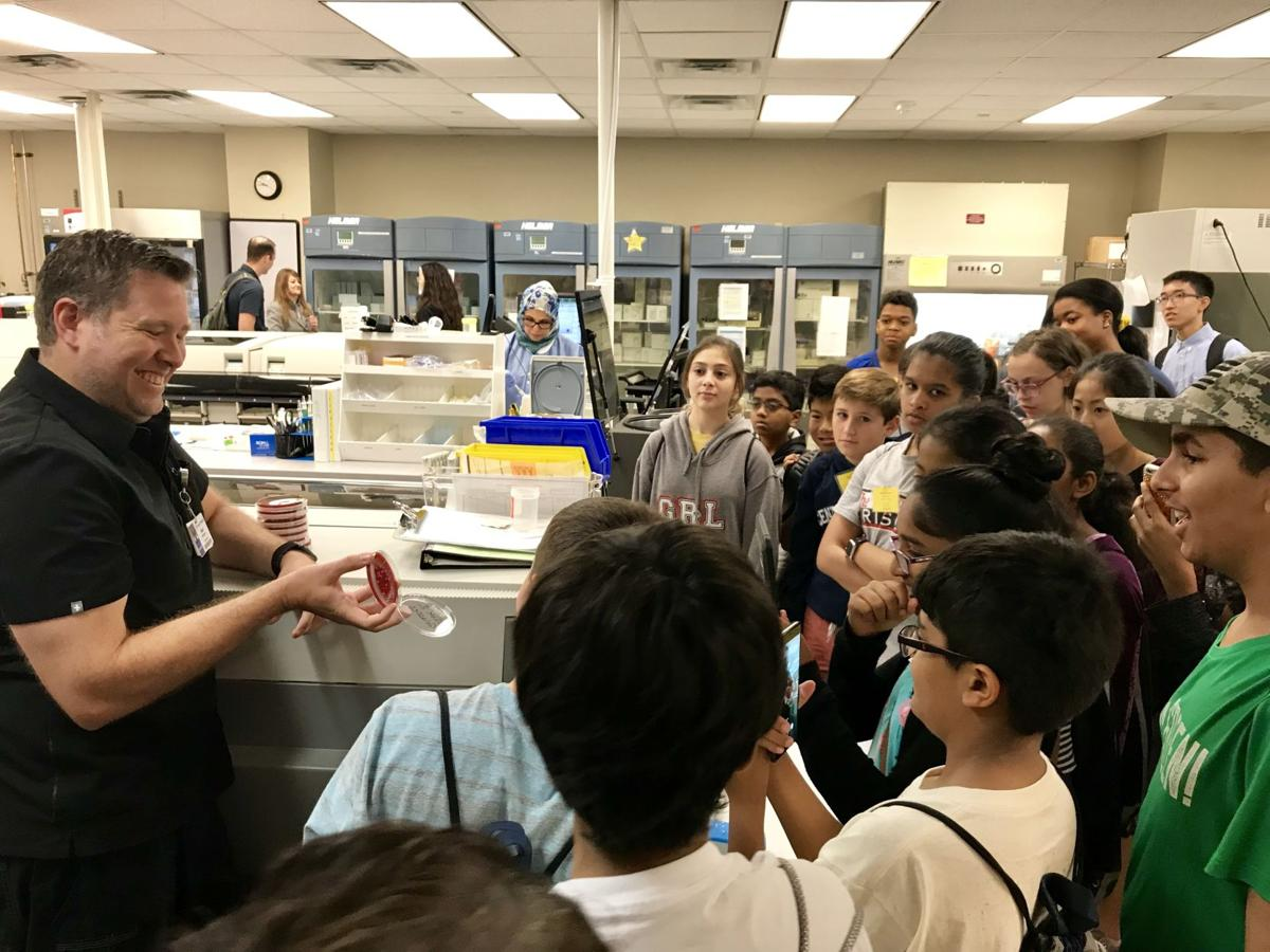 Students participate in STEAM summer camp