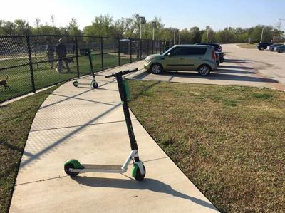 Scooters in Flower Mound