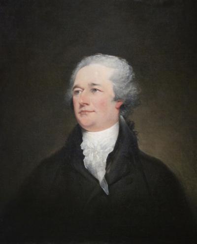 Trumbull's 'Portrait Of Alexander Hamilton'