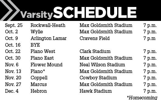 Lewisville Schedule