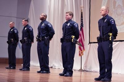 Five recruits graduate from Mesquite Police Department Academy