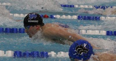 Plano West swimming