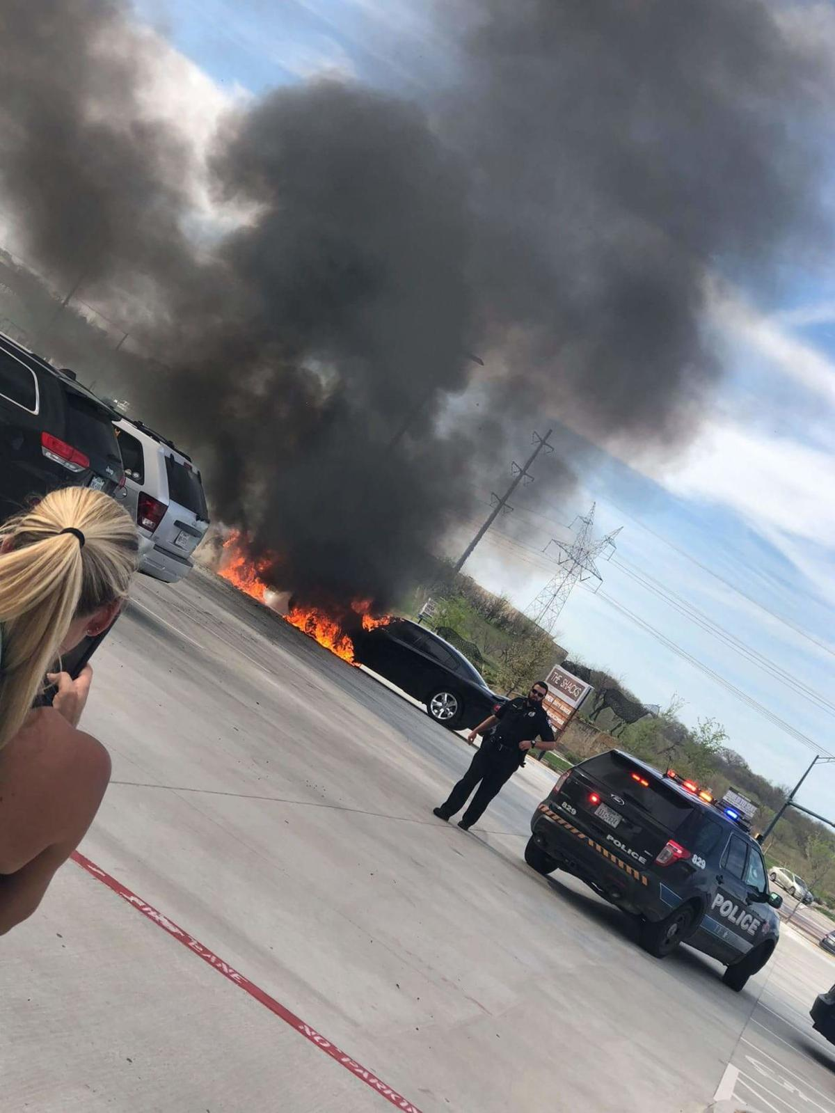 Car fires in The Colony