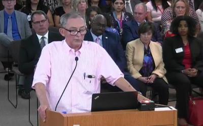 Garland ISD grandparent spoke before board of trustees