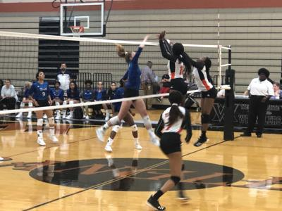 NORTH MESQUITE VS WEST MESQUITE VOLLEYBALL