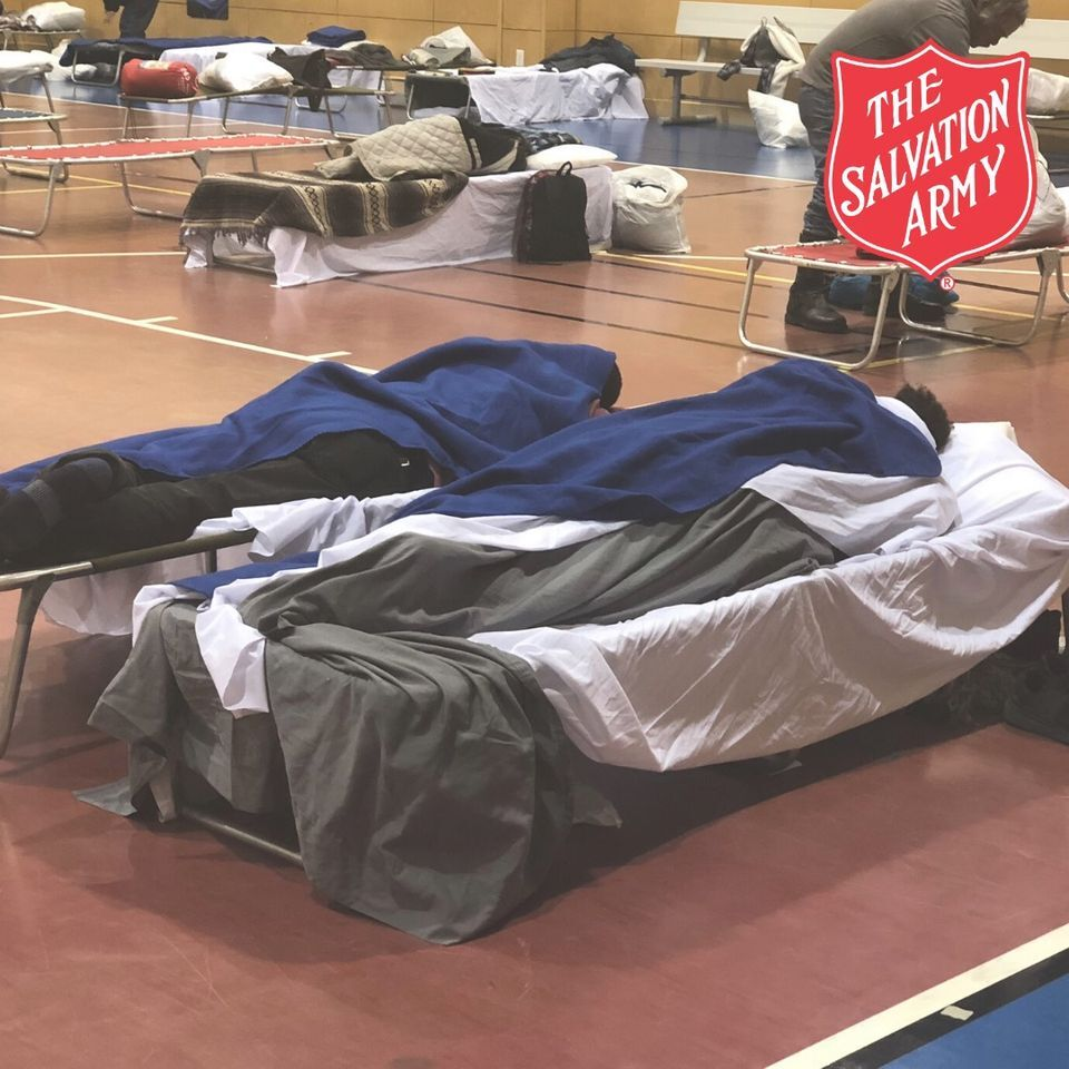 Overnight warming station prepares for COVID-19 impact