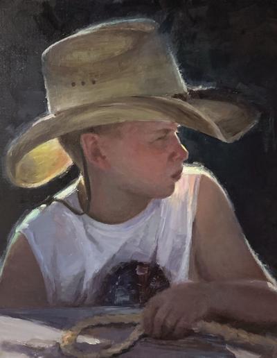Little Cowboy Frisco artist Jing Zhao