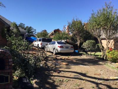 Two tornadoes confirmed in Dallas County