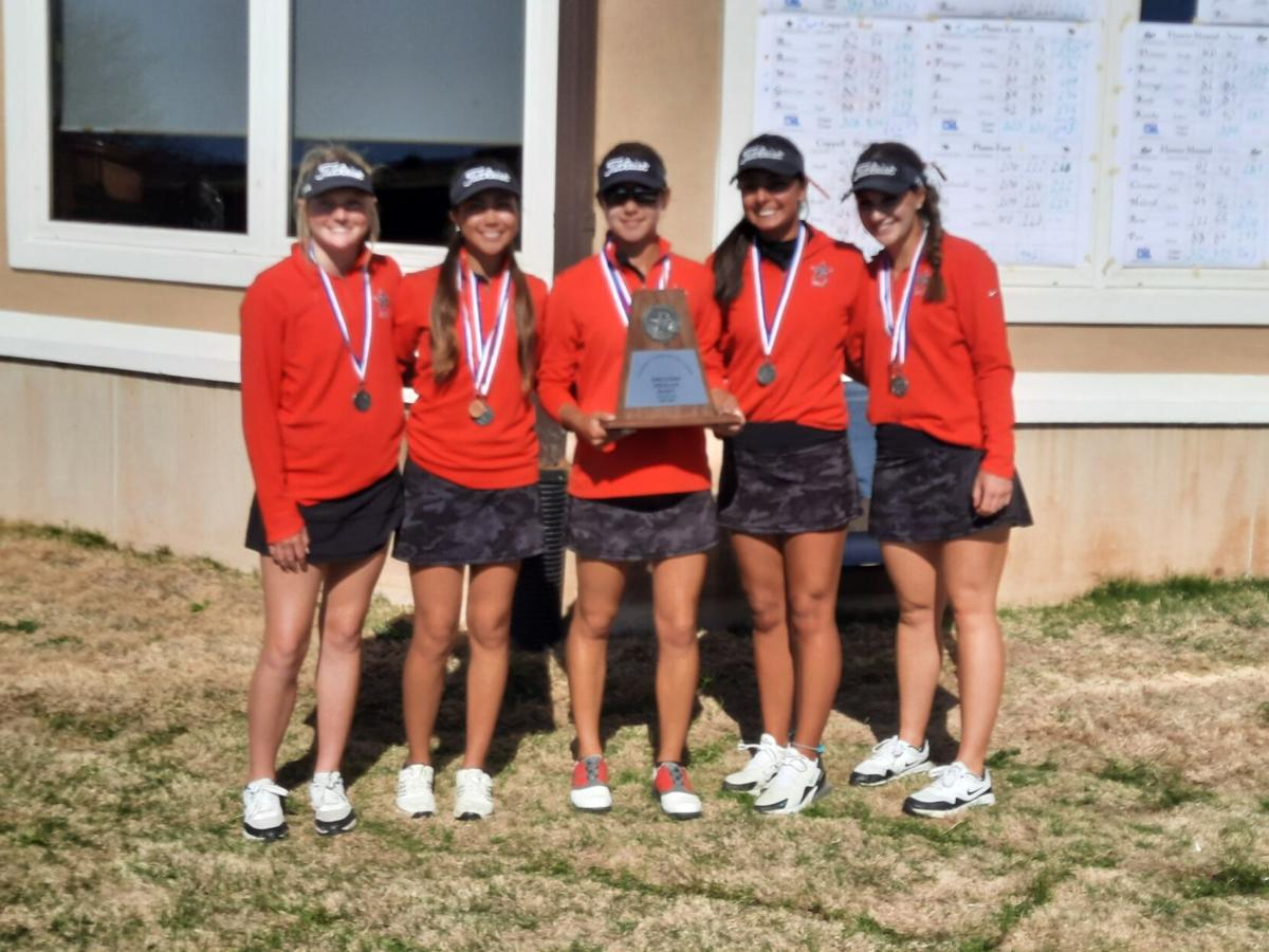 Coppell girls golf District 6-6A