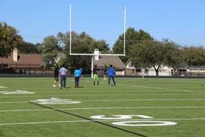 Coppell Middle School East field