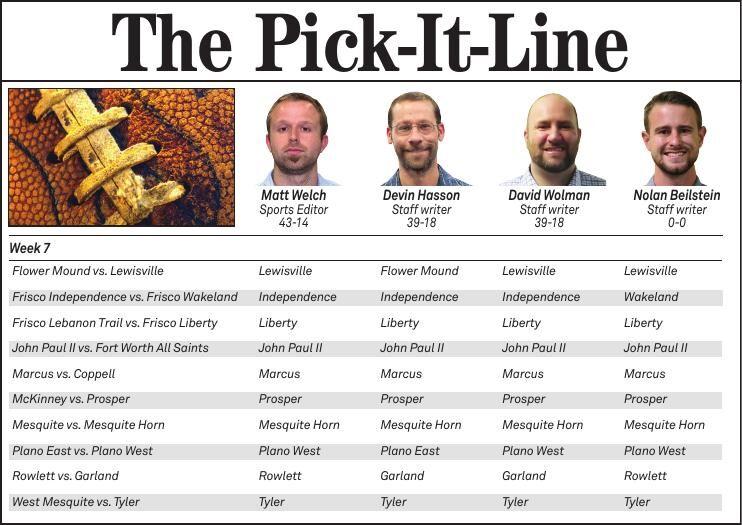 Pick It Line Week 7