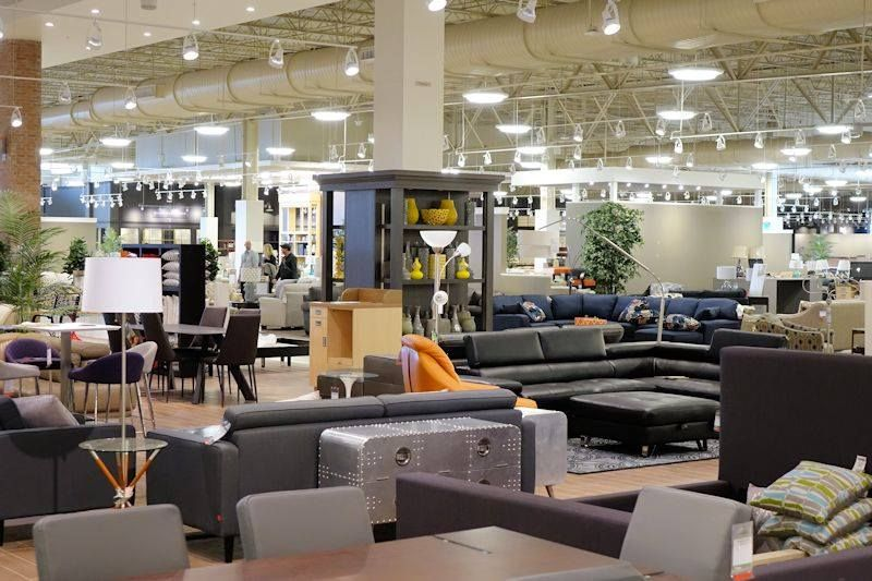 Nebraska furniture mart gives sneak peek into showroom for Furniture mart