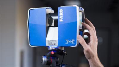 FARO laser scanner