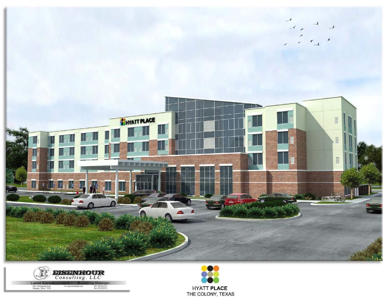 Download PDF Hyatt Place rendering Hyatt Place