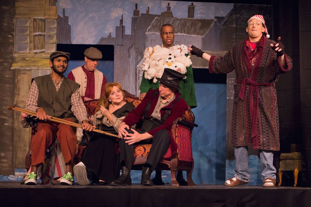 Not your average Christmas carol: Mesquite Community Theatre play ...